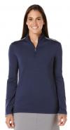 Callaway Women's 1/4 ZIP Mock Pullover