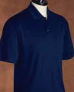 Pebble Beach Men's Horizontal Texture Polo