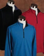 Pebble Beach Men's Quarter Zip Tech Pullover
