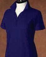 Pebble Beach Women's Solid Pique Shirt