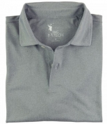 Men's Luxury Tech Pique Polo
