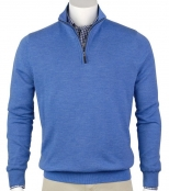 Fairway & Greene Men's Merino 1/4 Zip Windsweater