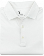 Men's Solid Jersey Polo