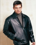 Chinese Lambskin Straight Bottom Leather Jacket